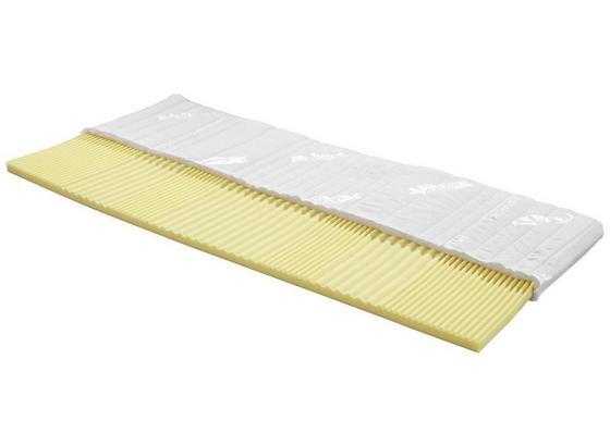 Topper Omega H2 180x200cm - Weiß, Textil (180/200cm) - Primatex