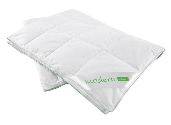 Přikrývka Modern- Lehká - bílá, textil (135/200cm) - Nadana