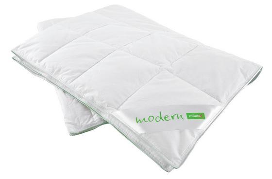 Prošívaná Přikrývka Modern- Lehká - bílá, textil (135/200cm) - Nadana
