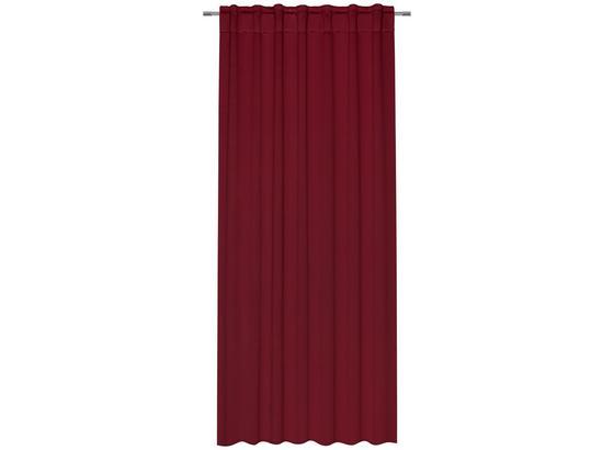 Zatemňovací Záves Riccardo - vínovočervená, Moderný, textil (140/245cm) - Premium Living
