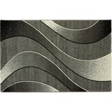 Webteppich Fabio 120x170 cm - Grau, KONVENTIONELL, Textil (120/170cm) - Ombra