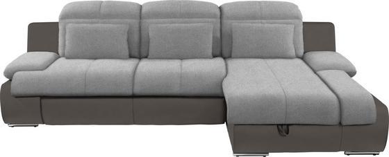 Sedací Souprava Multi - šedá/tmavě šedá, Moderní, textil (260/184cm)