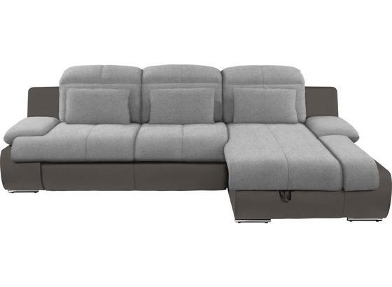 Sedacia Súprava Multi - sivá/tmavosivá, Moderný, textil (260/184cm)