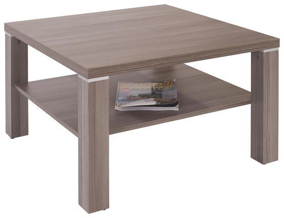 Dohányzóasztal Coffee 2 - sötétbarna, modern, faanyagok (75/45/75cm)