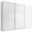SCHWEBETÜRENSCHRANK Includo 336cm Weiß - Weiß, MODERN, Holzwerkstoff (336/222/68cm)
