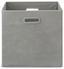 Skládací Krabice Elli -ext- -top- - šedá, Moderní, karton/textil (33/33/32cm) - Modern Living