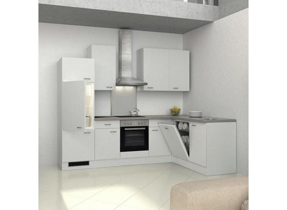 Küchenleerblock Wito 280x170cm Weiß - Weiß, KONVENTIONELL, Holzwerkstoff (280/234,2/170cm) - FlexWell.ai