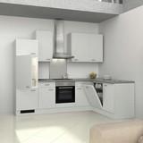 Küchenleerblock Wito 280x170cm Weiß - Weiß, KONVENTIONELL, Holzwerkstoff (280/170cm) - MID.YOU