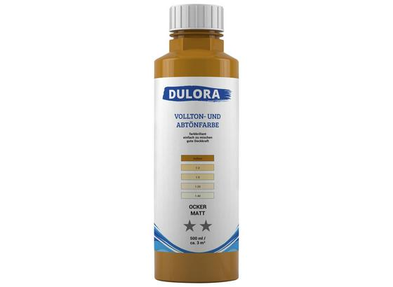 Abtönfarbe 500ml Ocker Matt - Gelb/Braun, Kunststoff (0,500l) - Dulora