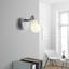 Bodové Svetlo Bahar - biela/strieborná, Romantický / Vidiecky, kov/plast (8/9,5cm) - Modern Living