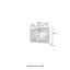Badmöbel-Set 2-Tlg. inkl. Led Pienza B: 100cm, Graphitgrau - Eichefarben/Weiß, Basics, Keramik/Holzwerkstoff (100/200/48cm) - Livetastic