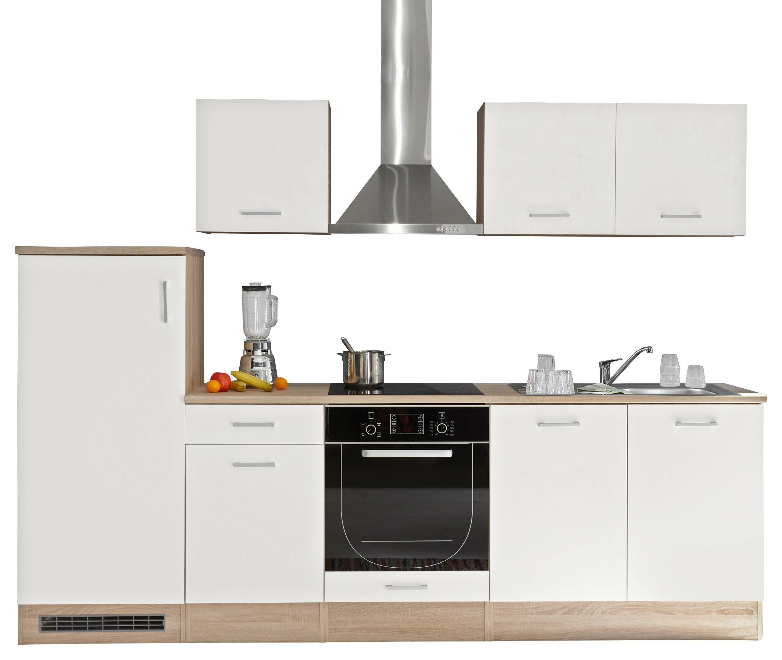 Mini Kühlschrank Möbelix : Küchenblock welcome andy cm weiß online kaufen ➤ möbelix