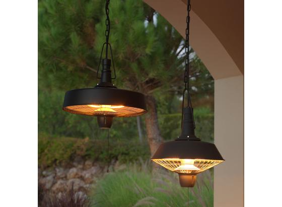 Terasový Zářič Heater 2 - černá, Moderní, kov (47,5/47,5/47,5cm) - Mömax modern living