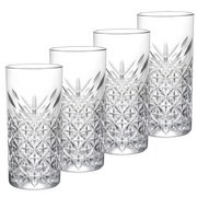 Longdrinkglas Timeless 4-Tlg - Transparent, Basics, Glas (295ml) - Mäser