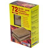 Anzünder 72 Stück - Braun, KONVENTIONELL, Holz