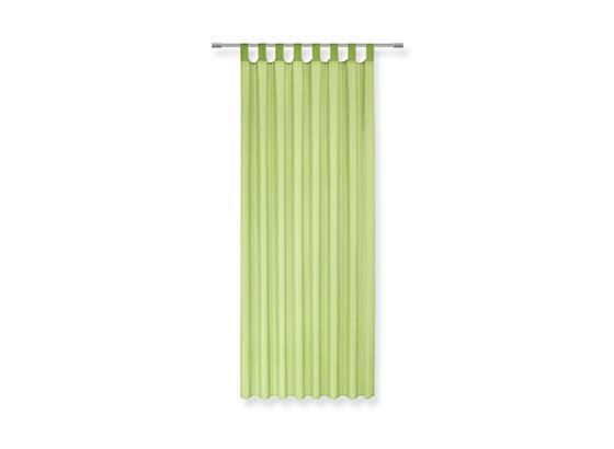 Záves S Pútkami Cenový Trhák - zelená, textil (140/245cm) - Based