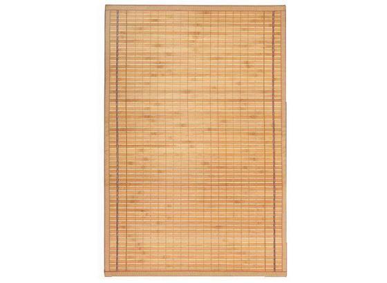 Szőnyeg Greta - Világosbarna, konvencionális, Természetes anyagok (90/180cm) - Ombra