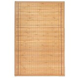 Teppich Bambus - Hellbraun, KONVENTIONELL, Holz (90/180cm) - OMBRA