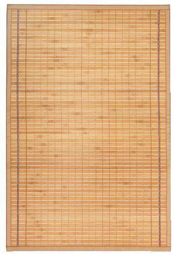 Teppich Greta 90x180 cm - Hellbraun, KONVENTIONELL, Holz (90/180cm) - Ombra