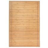 Teppich Greta 90x180 cm - Hellbraun, KONVENTIONELL, Naturmaterialien (90/180cm) - Ombra