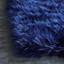 Umelá Kožušina Teddy 2 - modrá, plast (100/150cm) - Mömax modern living