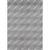 Hochflorteppich Enna, 60/115 - Weiß/Grau, MODERN, Textil (60/115cm)