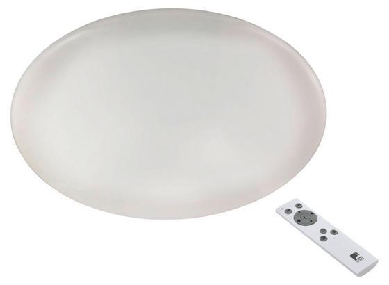 LED-Deckenleuchte Giron - Weiß, MODERN, Kunststoff/Metall (76/8,5cm)