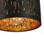 Stropná Lampa Samti Ø 20cm, 40 Watt - čierna/zlatá, Štýlový, kov/textil (20/17cm) - Modern Living