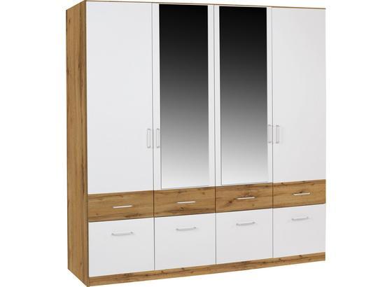 Šatná Skriňa Aalen-extra - Konvenčný, kompozitné drevo (181/197/54cm)