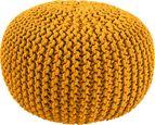 Sedací Vankúš Aline -ext- - žltá, textil (50/30cm) - Premium Living