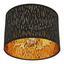 Stropní Svítidlo Samti Ø 30cm, 40 Watt - černá/barvy zlata, Lifestyle, kov/textil (30/21cm) - Modern Living