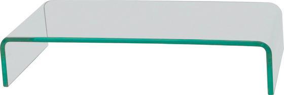 Tv-rátét Hagen 2 - modern, Üveg (55/11/25cm)
