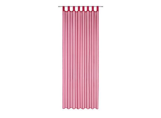 Záves S Pútkami Cenový Trhák - bordová, textil (140/245cm) - Based
