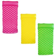 Luftmatratze Float'n Roll - Pink/Gelb, KONVENTIONELL, Kunststoff (159/77/19cm) - Bestway