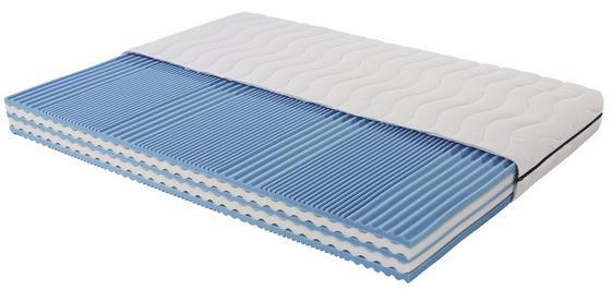 Komfortschaummatratze Wave Air H2 140x200 - Weiß, Textil (140/200cm) - Primatex