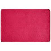 Badematte Eva Rot ca. 60/90cm - Rot, MODERN, Textil (60/90cm) - Luca Bessoni