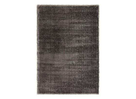 Koberec S Vysokým Vlasom Florenz 1 - antracitová, Moderný, textil (80/150cm) - Mömax modern living