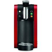 Kapselmaschine Tealounge Rot - Rot/Schwarz, Basics, Kunststoff (29.7/15/39.8cm)