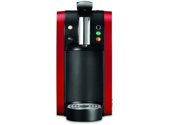 Teekanne Kapselmaschine Tealounge Rot/Schwarz - Rot/Schwarz, Basics, Kunststoff (15/29,7/39.8cm)