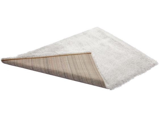 Hochflorteppich Glossy - Weiß, Basics, Textil (120/170cm) - Luca Bessoni
