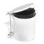Odpadkový Kôš 374020 - biela, umelá hmota (32/31/27cm)