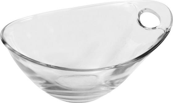 Dessertschale Gadi 3 - Klar, KONVENTIONELL, Glas (14cm) - Luca Bessoni