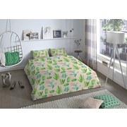 Wendebettwäsche Angela 140/200cm Kaktus - Multicolor, MODERN, Textil