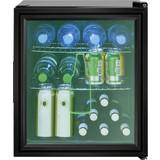 Getränkekühler KSG 7281 Schwarz - Schwarz, Basics, Glas/Kunststoff (44,0/51,5/46,5cm) - Bomann