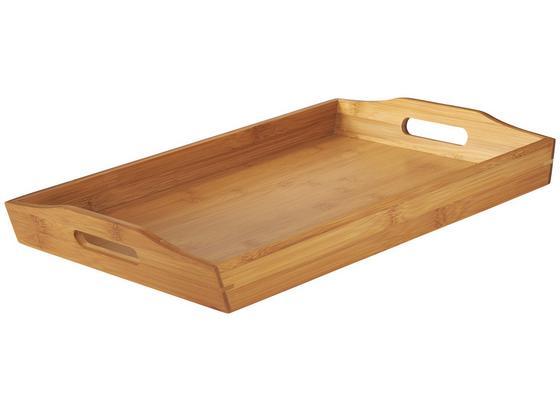 Tácňa 784200293 - hnedá, Konvenčný, drevo (43,7/5,5/29,5cm) - Mömax modern living