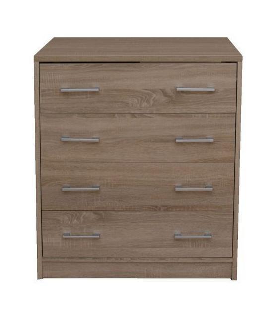 Komoda Sonoma - Moderný, drevený materiál (75/85/50cm)
