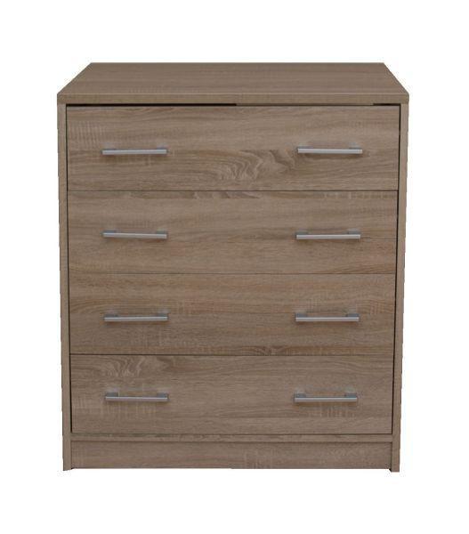 Komoda Sonoma - Moderný, kompozitné drevo (75/85/50cm)