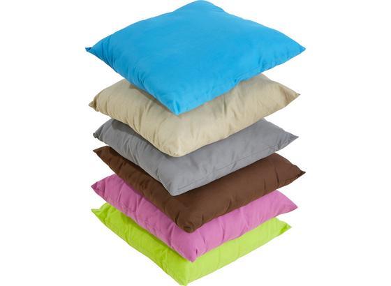 Díszpárna Verena - Bézs/Lila, konvencionális, Textil (40/40cm)