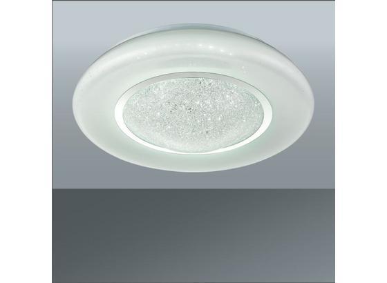 Led Stropná Lampa Leana - biela, Moderný, umelá hmota/kov (41/12cm) - Mömax modern living