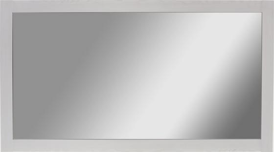 Zrcadlo Provence - bílá, Romantický / Rustikální, kompozitní dřevo/sklo (138,1cm) - James Wood